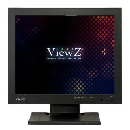 ViewZ VZ-17RTV Value commercial-grade LED CCTV Monitor