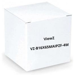 "ViewZ VZ-B16X65MAIPZF-4W 1/2"" Motorized Zoom Lens w/Video-Iris"