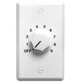 Speco WAT50W 50W 70/25 Volt Wall Plate Volume Control, White