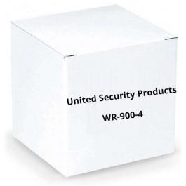 United Security Products WR-900-4 4 Zone 900Hhz Wireless Receiver