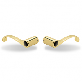 Yale YR05D853 McClure Snap-On Replacement Lever (Polished Brass Pair)