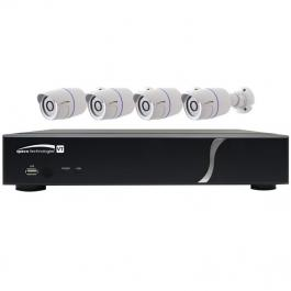 Speco ZIPT84B2 8 Ch. HD-TVI DVR and Camera Kit
