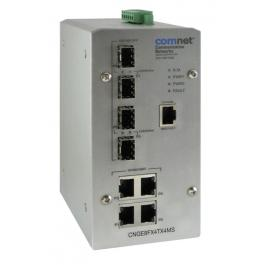 Comnet CNGE8FX4TX4MS 8-Port Managed Switch