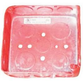 Bosch DBB-R Steel Back Box (Red)