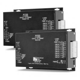 Interlogix DECR3000 8 Channel Contact Closure to Ethernet Receiver