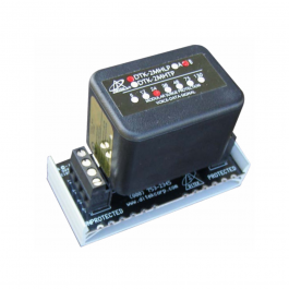 Ditek DTK-2MHLP5BWB 5V, 2 Pair, Suppression Module w/ Base