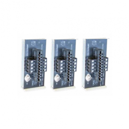 Ditek DTK-3MB Three Module Base for 2MHLP Series