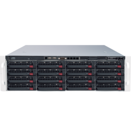 Digital Watchdog DW-BJER3U72T-LX Linux 64 bit OS Blackjack E-Rack 60TB