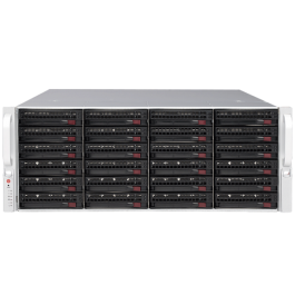 Digital Watchdog DW-BJER4U102T-LX Linux 64 bit OS Blackjack E-Rack 90TB
