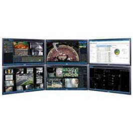 Pelco E1-OPS-WKS6 Enterprise Work Station with 6 Monitors
