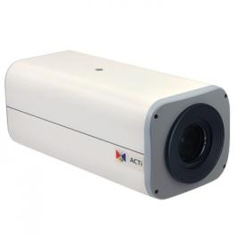 ACTi E210 10MP Zoom Box Camera with D/N Basic WDR 4.3x Zoom Lens