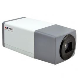 ACTi E219 2MP Video Analytics Zoom Box with D/N Extreme WDR SLLS