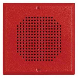 Bosch E70-R 24VDC Low-Profile Speaker - Red
