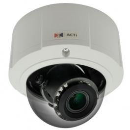 ACTi E822 1.3MP Outdoor Zoom Dome Camera with D/N Adaptive IR