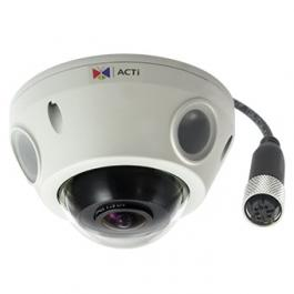 ACTi E925M 5MP Outdoor Adaptive IR Network Mini Fisheye Vandal Dome