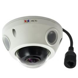 ACTi E929 3MP Mini Fisheye Outdoor Dome Camera