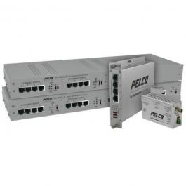 Pelco EC-3004ULPOE-W EthernetConnect Local 4-Port UTP Extender