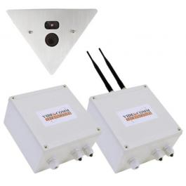 VideoComm EV-24307 Wireless 1.3MP Vandal Proof IP Elevator Video System