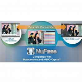 NUUO NuFace-P 08 8 ch Nuface license package for Main console /Crystal