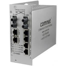 Comnet CNFE6+2USPOE-M PoE Unmanaged Switch (MM)