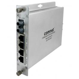 Comnet CNFE4+1SMSS2POE 5-Port Self-Managed Switch (SM)