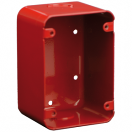 Bosch FMM-100DBB-R Indoor Deep Back Box Red
