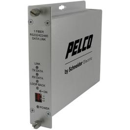 Pelco FTD1S1FC Single-Channel Fiber Transmitter Bidirectional Data