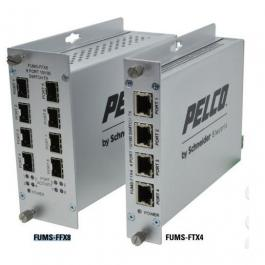 Pelco FUMS-FTX4 Unmanaged Switch 100M 4RJ46