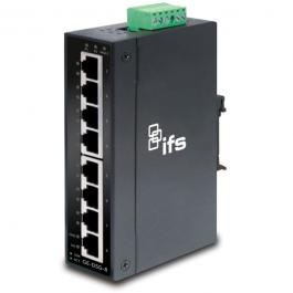 Interlogix GE-DSGH-8 8-Port Industrial Gigabit Ethernet Unmanaged Switch