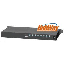 HubWay83CD 8 Channel UTP Transceiver Hub