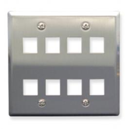 ICC IC107DF8SS Faceplate