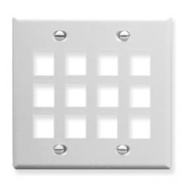 ICC IC107F12WH Faceplate