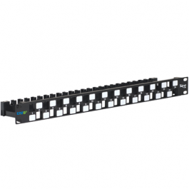 ICC IC107PPU6A 24-PORT Category 6A Blank Patch Panel