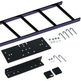ICC ICCMSLRW05 5' Ladder Rack to Wall Runway Bracket Kit