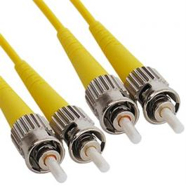 ICC ICFOJ7C501 ST to ST 1M Singlemode Duplex Fiber Optic Jumper