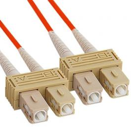 ICC ICFOJ8C302 SC to SC 2M Multimode Duplex Fiber Optic Jumper
