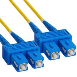 ICC ICFOJ8C510 SC to SC 10M Singlemode Duplex Fiber Optic Jumper