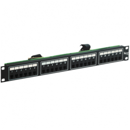ICC ICMPP024T4 24-Port 6P4C 1 Rack Mount Space Telco Patch Panel