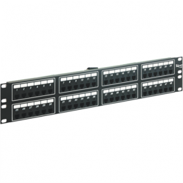 ICC ICMPP048T4 48-Port 6P4C 2 Rack Mount Space Telco Patch Panel