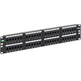 ICC ICMPP048U6 48-Port 6P6C 2 Rack Mount Space USOC Patch Panel