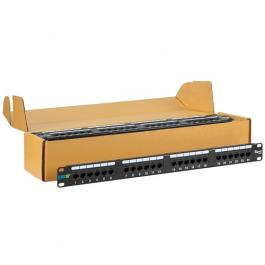 ICC ICMPP245EV 24-Port Category 5E Patch Panel 6 Pack