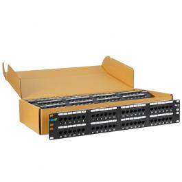 ICC ICMPP485EV 48-Port Category 5E Patch Panel 6 Pack