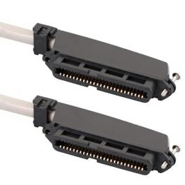 ICC ICPCSTFF10 25-Pair Cable Assembly w/50-Pin F-to-F Connector 10'