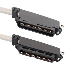 ICC ICPCSTFM15 25-Pair Cable Assembly Female to Male - 90 degree - 15'