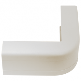 "ICC ICRW33CCWH 1 1/4"" Outside Corner Cover - White"