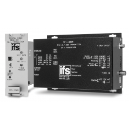 Interlogix VDT14120WDM Digital Video TX / Data Transceiver MM Laser
