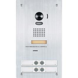 Aiphone IS-IP4DVF IP Video Door Station with 4 Call Buttons