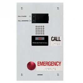 Aiphone IX-SS-2RA IP Dual-Call Button Audio Emergency Station