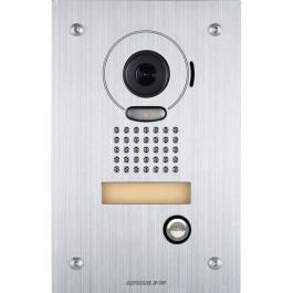 Aiphone JP-DVF JP Flush Mount Color Vandal Door STN - Stainless Steel