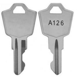 Bosch KEY-A126 Spare Key for Lock 24136